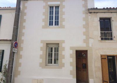Rénovation extérieure enduit de façade