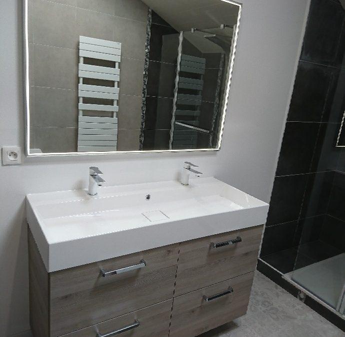 Réaménagement complet de salle de bain