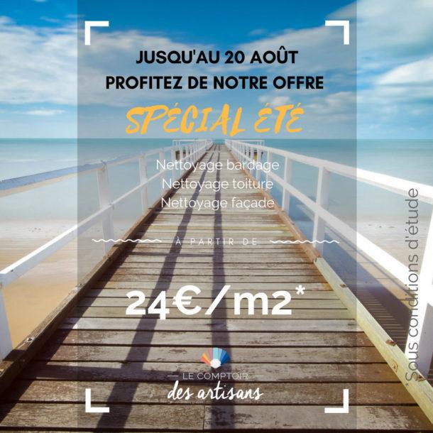 OFFRE SPECIALE ETE : 24€/m2